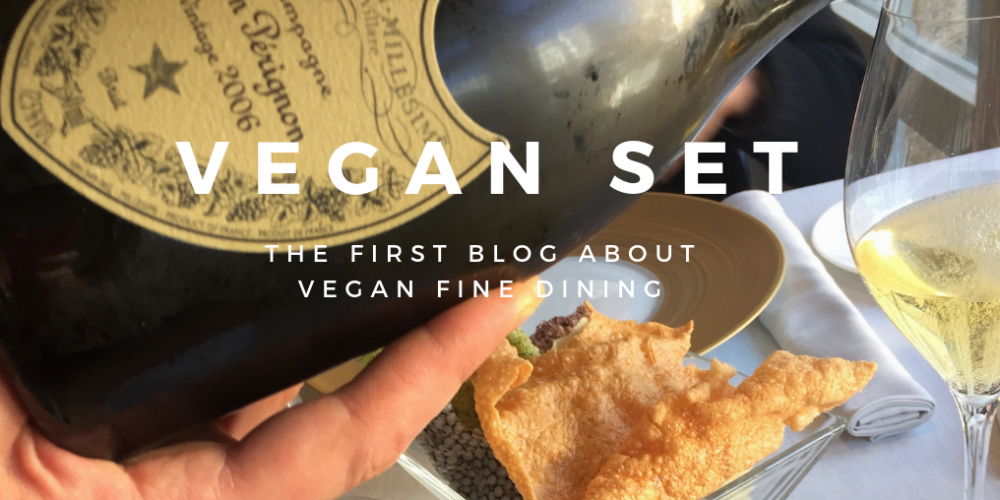 The first blog about vegan fine dining